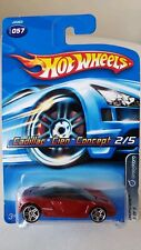 Hot Wheels Cadillac Cien Concept Dropstars 2 Red Maroon 2005