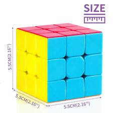 3x3 Triangle Magic Cube Twist Puzzle Game Intelligence Black Boxed Kids Gifts