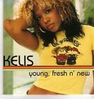(DA475) Kelis, Young, Fresh N' New - 2001 DJ CD