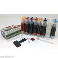 Compatible Bulk Continue Ink System for Epson Stylus Photo R2000 CISS CIS