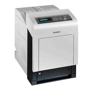 Kyocera FS-C5200DN Printer With Genuine Cartridge Plus Low P/Count: 29000.
