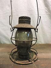 C&NW Ry Chicago & North Western Railway Lantern 1913 matching globe