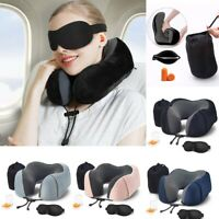Travel Pillow Memory Foam Neck Pillow Soft Head Support Pillow Neck Protective