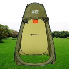 Protable Pop Up Changing Room Removable Toilet Camping Hiking Shower Tent GDY7