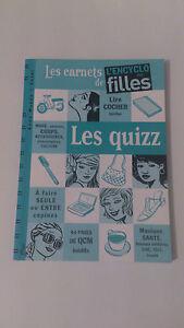 Les carnets de l'encyclo des filles - Les Quizz - Anna Musso