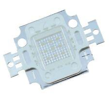 5 X Azul 10w Alta Potencia Led Pcb Disipador De Calor