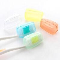 5pcs/set Portable Travel Toothbrush Head Cover Wash Brush Protective Cap