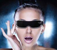 "New Accupix Mybud 3D Viewer 100"" Head Mount Display Virtual Screen Glasses"