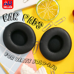 Soft Replacement Ear Pads Cushion Cover For Beats By Dr Dre Solo 2/3 Headphone