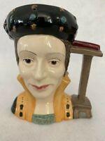 Royal Doulton Character Jug Catherine Parr D6664 1980 Large Mug Toby