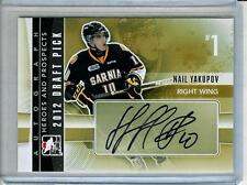 2011-12 ITG Heroes & Prospects Nail Yakupov Auto RC Oilers Rookie Autograph
