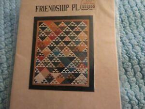 "quilt pattern ""Friendship Plaid"""