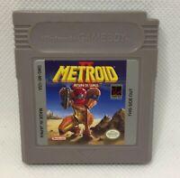 Metroid II: Return of Samus - Nintendo Game Boy - Tested & Working