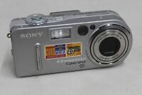 "SONY DSC-P9 Cyber Shot Compact 1.5"" LCD Display Screen 4MP Digital Camera"