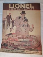 Vintage 1960 Lionel Model Train Accessory Catalog - See Condition Description