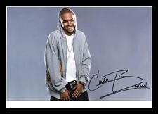 CHRIS BROWN AUTOGRAPHED SIGNED & FRAMED PP POSTER PHOTO