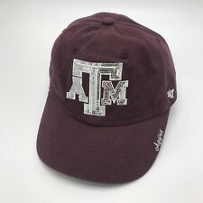 check out 3c51f 2aa72 Size  One Size. Texas A M Aggies Womens 47 Brand Jeweled Strap-Back Hat Cap  SEC NCAA