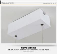 LAMPARA LED MODERNA - ALUMINIO + ACRILICO 100 X 40 (40W)