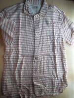 ETERNAL Stripes Shirt L union made sugarcane dry bones flathead apc lvc vtg RARE
