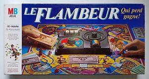 Jeu de Société Le Flambeur 1985 MB Milton Bradley complet