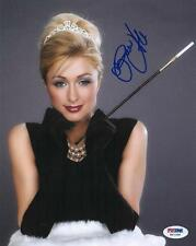 Paris Hilton Signed Sexy Authentic Autographed 8x10 Photo (PSA/DNA) #H67208