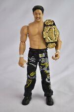WWE Jakks Action Figure Tajiri with Light Heavyweight Belt! Ruthless Aggression