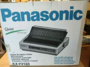 Panasonic KX-P2123 Dot Matrix Printer with additional RAM & Colour Capability