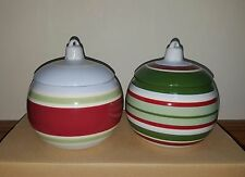 Longaberger Ornament Candle Holders Set of 2 Nib Christmas Holiday All Trimmings