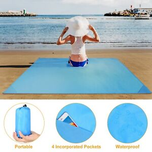Camping Mat Travel Beach Blanket Outdoor Picnic Waterproof Sand Proof Mat Pad