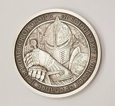Limited 2 oz Antique Destiny Coin Series Knights Templar Camelot Lancelot w/ COA