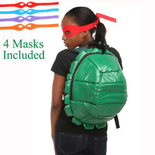 Anime Teenage Mutant Ninja Turtles TMNT Green Shell nylon Backpack School Bag 03