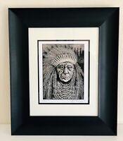 *Chief AP Mini Art Print by Emek *S/N #XX/500*NOT Pearl Jam Edmonton