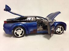 Pontiac Rageous, Collectibles, Diecast 1:24 Scale, MotorMax Toys, Blue, DSP