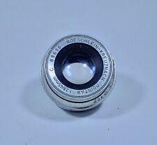 Roschlein-Kreuznach Pointar 45mm f/2.8 10-Blade Camera Lens, Unknown Mount