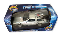 Vtg Diecast Toy Car Back to the Future 2 BTTF Delorean 1:24 Scale McFly Doc (6