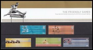 2002 GB Commonwealth Games Manchester Royal Mail Presentation Pack No.336