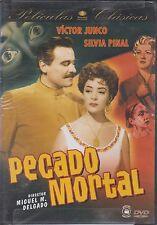 DVD - Pecado Mortal NEW Victor Juno Silvia Pinal FAST SHIPPING !