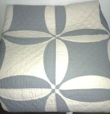 Nwt New Pottery Barn Wedding Ring Quilt Full / Queen