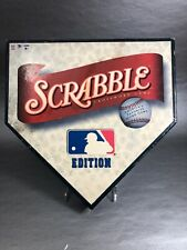 Scrabble Board Game Major League Baseball MBA Edition Complete Crossword Game