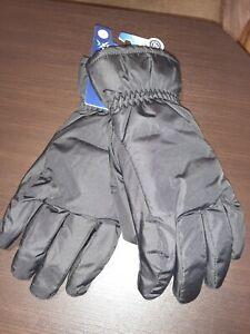 Isotoner Signature Men's Waterproof SmartDri Winter Gloves Size L