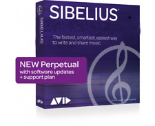 Avid Sibelius Perpetual License with 1 Year Upgrade and Support Plan - Download