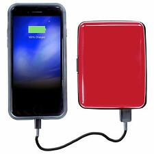 Wallet,Atomic Charge Wallet, Portable Battery Power Bank,Bifold Wallet with RFID
