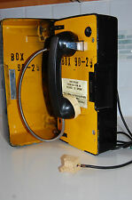 VINTAGE WESTERN ELECTRIC BELL SYSTEM EMERGENCY TELEPHONE  CALL BOX UNIT