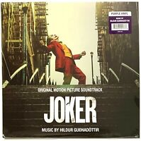 Joker Original Motion Picture Soundtrack LP [Purple Vinyl] Record Album [Sealed]