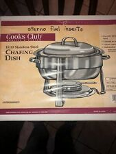 Excellent 4-Quart Premium 18/10 Stainless Steel Chafing Dish by Cooks Choice