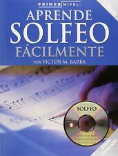 Primer Nivel: Aprende Solfeo Facilmente + CD - Editorial Hal Leonard