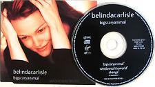BELINDA CARLISLE CD Big Scary Animal / Windows Of The World / Change UNPLAYED