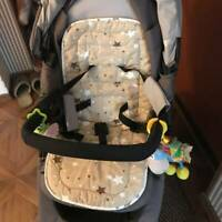 Washable Soft Kid Stroller Pram Pushchair Baby Car Seat Liner Pad Mat Cushion SE