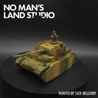 Pro Painted 28mm Bolt Action panzer IV (tank commander not included) 1/56 scale