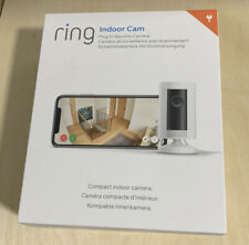 Ring Indoor Cam - Full HD 1080p WiFi Security Camera - White - New & Unopened